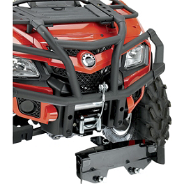Moose RM4 Plow Mount Plate - 2010 Can-Am OUTLANDER MAX 500 Moose 393X Front Wheel - 12X7 4B+3N Black