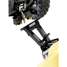 Moose RM4 Plow Mount Plate - 2011 Polaris SPORTSMAN XP 850 EFI 4X4 WITH EPS Moose Plow Push Tube Bottom Mount