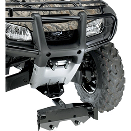 Moose RM4 Plow Mount Plate - 2010 Honda TRX500 FOREMAN 4X4 ES POWER STEERING Moose 387X Rear Wheel - 12X8 2B+6N Black