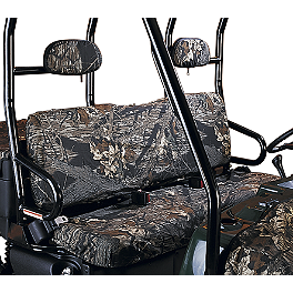 Moose Bench Seat Covers - Kawasaki Genuine Accessories Camo Seat Cover