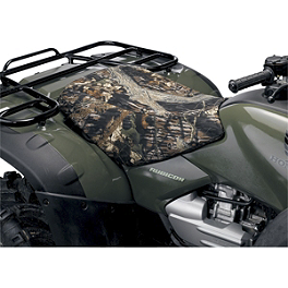 Moose Cordura Seat Cover - 2004 Polaris SPORTSMAN 500 H.O. 4X4 Quad Works Gripper Seat Cover - Black
