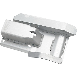 Moose Swingarm Skid Plate - 1987 Honda TRX250X AC Racing Nerf Bars