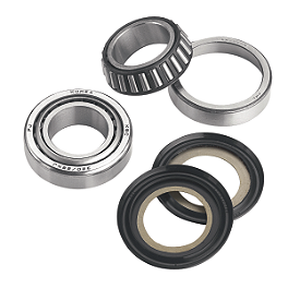 Moose Steering Bearng Seal Kit - 1983 Honda ATC250R Moose Wheel Bearing Kit - Rear