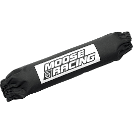 Moose Shock Cover - Single - 2002 Polaris XPEDITION 325 4X4 Moose Handguards - Black