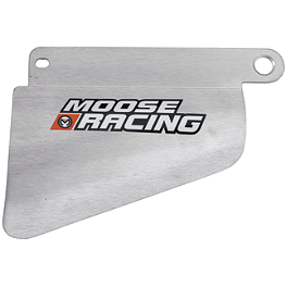 Moose 4-Stroke Silencer Guard - Moose Radiator Guards With Fan