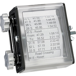 Moose Side Load Route Sheet Holder - Moose Hour Meter