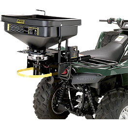 Moose ATV Spreader - 2003 Suzuki EIGER 400 4X4 SEMI-AUTO Moose 393X Front Wheel - 12X7 4B+3N Black