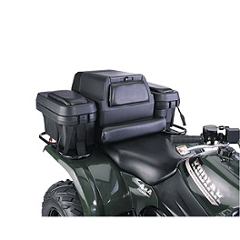 Moose Executive Storage Trunk - 2013 Suzuki KING QUAD 750AXi 4X4 POWER STEERING Moose 393X Front Wheel - 12X7 4B+3N Black