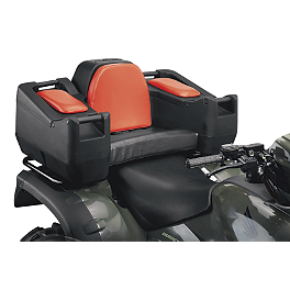 Moose Diplomat Storage Trunk - 2013 Suzuki KING QUAD 500AXi 4X4 POWER STEERING Moose Cordura Seat Cover