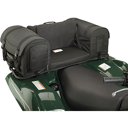 NRA By Moose Tradition Rear Rack Bag - Moose Ozark Rear Rack Bag - Black