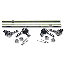 Moose Tie Rod Upgrade Kit - 1990 Yamaha BIGBEAR 350 4X4 Moose 393X Front Wheel - 12X7 4B+3N Black