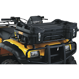 Moose Prospector Front Trunk - 2011 Honda RANCHER 420 4X4 AT POWER STEERING Moose 393X Front Wheel - 12X7 4B+3N Black