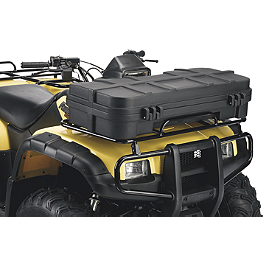 Moose Front Cargo Box - 2002 Honda RANCHER 350 4X4 ES Moose 387X Rear Wheel - 12X8 2B+6N Black