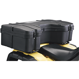 Moose Rear Cargo Box - 2012 Kawasaki BRUTE FORCE 750 4X4i (IRS) Moose Plow Push Tube Bottom Mount