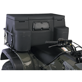 Moose Explorer Storage Trunk - 2008 Honda RANCHER 420 4X4 ES Moose 393X Front Wheel - 12X7 4B+3N Black