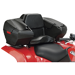 Moose Trailblazer Storage Trunk - Quadboss Rear Rack Lounger
