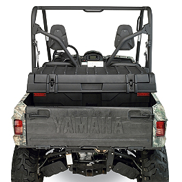 Moose Universal Bed Trunk - 2008 Yamaha GRIZZLY 700 4X4 POWER STEERING Moose Handguards - Black