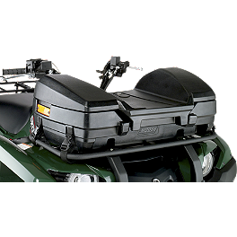 Moose Forester Front Trunk - 2008 Suzuki KING QUAD 750AXi 4X4 Moose 393X Front Wheel - 12X7 4B+3N Black
