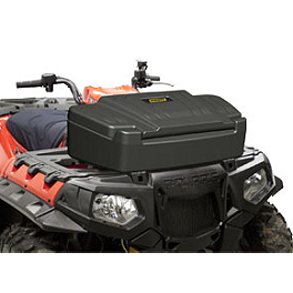 Moose Front Storage Trunk - 2003 Honda RANCHER 350 4X4 ES Moose 393X Front Wheel - 12X7 4B+3N Black