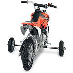 Moose Training Wheels - Moose Dirt Bike Complete Wheels