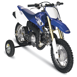 Moose Training Wheels - 1996 Yamaha PW50 Moose 2-Stroke Pipe Guard