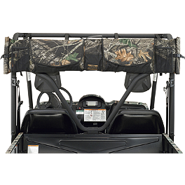 Moose Expedition UTV Gun Scabbard - 2013 Honda RANCHER 420 4X4 POWER STEERING Moose 393X Front Wheel - 12X7 4B+3N Black