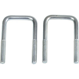 "Moose 5/16"" Square U-Bolt - 1-1/4"" X 2-1/4"" - 2001 Honda TRX400 FOREMAN 4X4 Moose Plow Push Tube Bottom Mount"