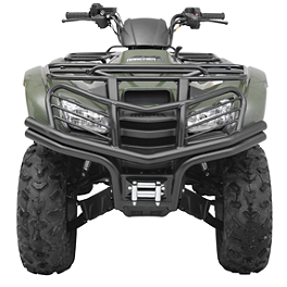 Moose Utility Front Bumper - 2010 Honda RANCHER 420 4X4 AT POWER STEERING Moose 387X Rear Wheel - 12X8 4B+4N Black