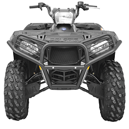 Moose Utility Front Bumper - 2008 Polaris SPORTSMAN 800 EFI 4X4 Moose 393X Center Cap