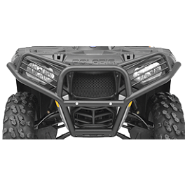 Moose Utility Front Bumper - 2010 Polaris SPORTSMAN XP 850 EFI 4X4 WITH EPS Quadboss Fender Protectors - Wrinkle