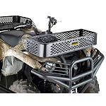 Moose Universal Mesh Rack - Front With Slot - Utility ATV Body Parts and Accessories