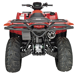 Moose Utility Rear Bumper - 2009 Suzuki KING QUAD 450AXi 4X4 Quadboss Fender Protectors - Wrinkle
