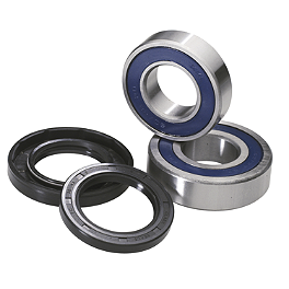 Moose Wheel Bearing Kit - Rear - 2010 Polaris SCRAMBLER 500 4X4 Rock E-Brake Block Off Plate - Flame