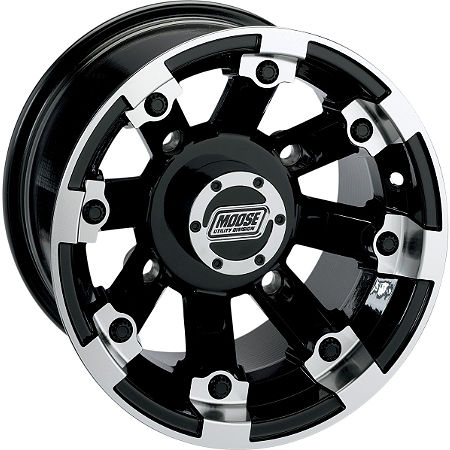 Moose 393X Rear Wheel - 15X8 4B+4N Black - Main