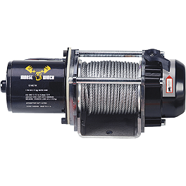 Moose Winch Housing Assembly - 1,700 Pound - Moose Winch With Synthetic Rope - 1,700 Pound