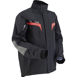 2013 Moose Monarch Pass Stealth Jacket - Alpinestars Venture Jacket