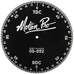 Motion Pro Timing Degree Wheel - Motorcycle Engine Parts and Accessories