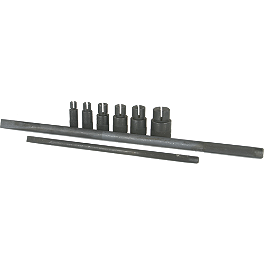 Motion Pro Bearing Remover Set - 8-Piece Metric - Park Tool Steering Race Press