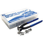 Motion Pro 70-Piece Stepless Fuel Line Clamp Kit - Dirt Bike Fuel and Air