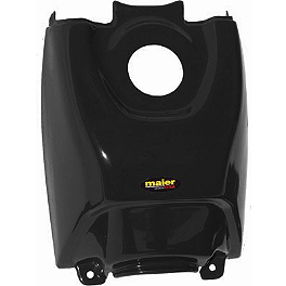 Maier Gas Tank Cover - Yamaha - 1988 Yamaha BLASTER Quad Works Gripper Seat Cover - Black