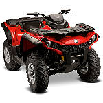 Maier ATV Fender Flares - Textured Black - CAN-AM-OL800 Utility ATV Body Parts and Accessories