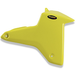 Maier Air Scoops - Suzuki - Maier Gas Tank Cover - Suzuki