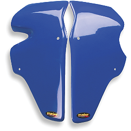 Maier Race Radiator Scoops - Honda - 2008 Honda TRX450R (ELECTRIC START) Maier Racing Front Fender - Honda