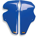 Maier Race Radiator Scoops - Honda - Dirt Bike Plastics