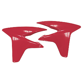 Maier Radiator Scoops - Honda - 2007 Honda TRX450R (ELECTRIC START) Maier Racing Front Fender - Honda