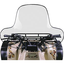 Maier Universal ATV Windshield - Clear - Kings ATV Tube 25x12-12 TR-6