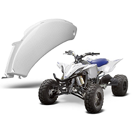 Maier Side Panels - Yamaha - 2010 Yamaha YFZ450R GYTR Quad Tech Seat Cover - Black/Blue