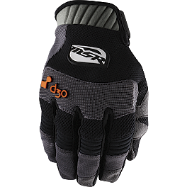 2013 MSR Attak Gloves - Blingstar Notorious Nerf Bar - Textured Black