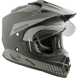 2013 MSR Xpedition Dual Sport Helmet - 2014 Fly Racing Trekker Helmet
