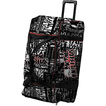 2013 MSR Large Rolling Gear Bag - Metal Mulisha - Main